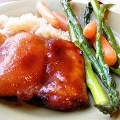 Teriyaki Honey Chicken Recipe