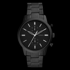 e182e50e4522de Fossil Townsman FS5502. Reinvent your city look with this sleek Fossil   Townsman watch.