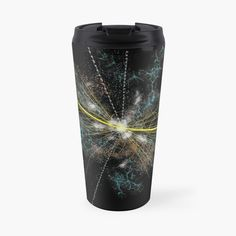 'Higgs Boson elementary particle' Travel Mug by Boson De Higgs, High School Organization, Elementary Particle, Large Hadron Collider, High School Hacks, Physics And Mathematics, Material Science, Study Techniques, Space Facts