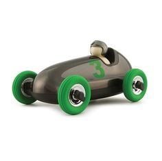 NEW ARRIVALS Bruno Gunmetal Green Wheels Sleek, rounded curves and classic gunmetal and green colours give the Bruno it's timeless and understated appeal. Rubber wheels that move, tough construction from heavy duty plastic and UK designed, they are built for imagination and everyday play but also look great on the shelf as a room decoration.   Made by Playforever, a UK company who specialise in the manufacturing of ultra-stylish toys.  $83.95 #sweetcreations #decor #toys #nursery #baby #kids