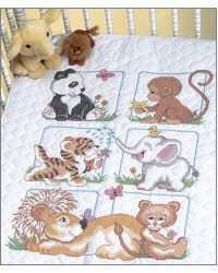 Animal Babies Quilt Stamped Kit  http://everythingcrossstitch.com/animal-babies-quilt-stamped-kit-mrp-p19761.aspx?k2=y9