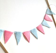 Items similar to Pink and Blue Cake Bunting, Gender Reveal Party Cake Banner, Baby Shower Cake Topper, Baby Gender Reveal Decoration on Etsy Twin Gender Reveal, Baby Shower Gender Reveal, Baby Gender, Cake Bunting, Cake Banner, Baby Shower Cakes, Baby Boy Shower, Baby Showers, Gender Reveal Decorations