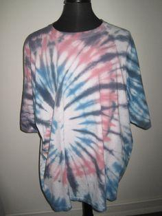 5X Large Jerzees brand Tie Dye tshirt in Pastels by AlbanyTieDye, $15.00