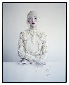 Xiao Wen Ju photographed by Tim Walker for W Magazine, March 2012