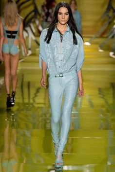 Versace,SS 2014. Even though I'd never wear this, but!