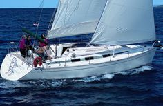 Charter yacht Vektor 361. 3 cabins, 6+2 berths. Available for charter in Croatia.