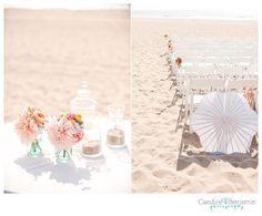 pretty and simple beach wedding.
