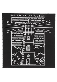 Being As An Ocean - Lighthouse - Backpatch - Official Merch Store - Impericon.com UK