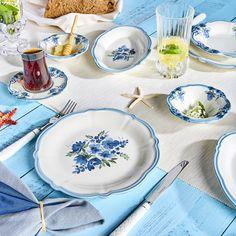 Karaca Nostalji 26 Parça Kahvaltı Takımı Karaca Deli, My Design, Plates, Tableware, Shopping, Licence Plates, Dishes, Dinnerware, Plate