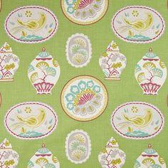 Warwick Fabrics : CHERRY GARDEN