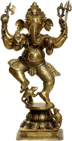 The Militant Form of Dancing Ganesha
