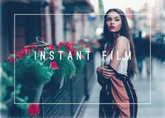 Instant Film Premium LR Preset by LOU&MARKS on @Graphicsauthor