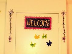 Creative DIY crafts: Recycled DIY: Door Hangings with Toilet (Tissue) P...