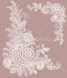 Corner lace Clip art Royalty Free Stock Vector Art Illustration