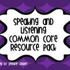 This 28 page pdf contains everything you need to get started with the Speaking and Listening Common Core Standards. Posters, Rubrics, Self Assessment, Printables, Foldables and More! Priced Item $