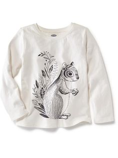 Long-Sleeve Graphic Tee Product Image 9.94 Old Navy