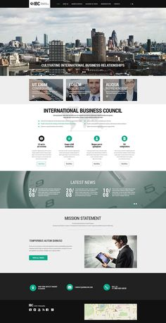 Business Responsive Website Template, #Responsive #Business #Template #Website