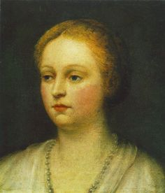 Portrait of a Woman : TINTORETTO : Art Images : Imagiva