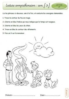 Suite de Lecture autonome French Teaching Resources, Teaching French, French Worksheets, French Education, Core French, French Immersion, Reading Activities, Learn French, French Language