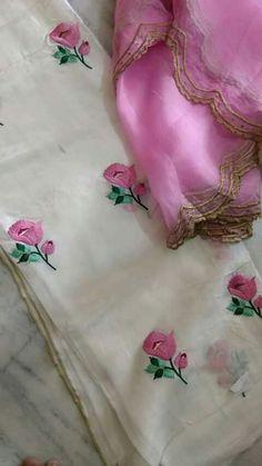 Source by shoes Embroidery Suits Punjabi, Hand Embroidery Dress, Embroidery Suits Design, Machine Embroidery Designs, Gota Patti Saree, Fashion Wallpaper, Trendy Wallpaper, Boutique Suits, Designer Punjabi Suits