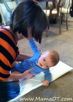 10 tips for helping babies learn to roll | Mama OTMama OT