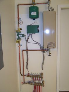 House 1 hydronic heating system nti boiler weil mclean for Pex plumbing pros and cons