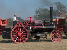 """Burrell Ploughing Engine, 777 """"The Earl"""", Image 4 - Steam Scenes"""
