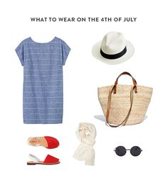 what to wear on the 4th of july and how to beat the heat