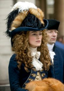 Georgiana Cavendish played by kiera knightley in The Duchess . . . I want ALL of her outfits from this movie. All. Of. Them.