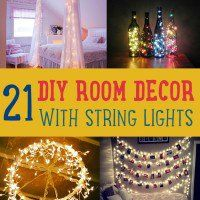 Want DIY room decor ideas you can use all year round? How about using string lights? String lights are not just great outdoors, you can also use it as decorative string lights for bedroom. If you're looking for decorating ideas, I've made a great collection you can choose from!