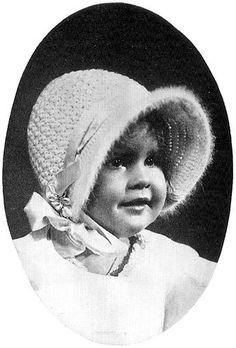 1929 Poke Bonnet Vintage Crochet Pattern PDF 419 by annalaia, $3.75