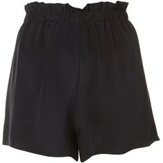 Silk Pull On Shorts by Boutique (205 RON) ❤ liked on Polyvore featuring shorts, bottoms, pants, topshop, navy blue, navy shorts, silk shorts, pull on shorts and navy blue shorts