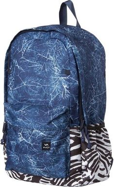 "b51cc5f137c9 Rvca backside autobot paded 15"" laptop school backpack"