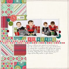 2 photos + stitching + squares