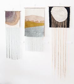 New weavings Lucy Poskitt