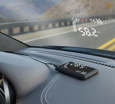 Superior The Windshield Heads Up Display U2013 A New Gadget Designed To Help Drivers  Improve Road Awareness
