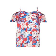 Discover the latest trends at New Look. Top Rouge, Jungle Print, Holiday Looks, Chic Dress, Holiday Outfits, New Look, Fashion Online, Cold Shoulder, Floral Tops