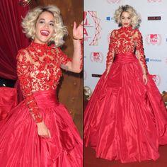 Rita Ora EMA Red carpet - Lovin it!
