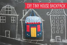 Sewing Secrets: DIY Tiny House Backpack