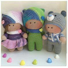 Mesmerizing Crochet an Amigurumi Rabbit Ideas. Lovely Crochet an Amigurumi Rabbit Ideas. Crochet Teddy Bear Pattern, Crochet Dolls Free Patterns, Crochet Rabbit, Cute Crochet, Amigurumi Patterns, Amigurumi Doll, Doll Patterns, Crochet Baby, Crochet Doll Clothes