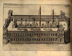 Ricostruzione del Circo Massimo #roma #circomassimo #spettacolo #gare #corse #illustrazione Plan Drawing, Ancient Rome, Art And Architecture, Big Ben, Explore, Landscape, Drawings, Building, Travel