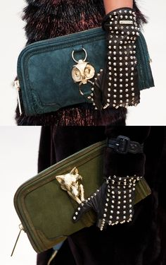 One of the most talked about fashion shows at London Fashion Week in February (for Spring/Summer 2012) was Burberry. Burberry Prorsum showed an English country-life-inspired collection that included a set of animal clutches, including one depicting an owl. Now that's pretty nifty!