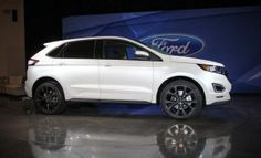 Ford: 2015 Ford Edge Sport Specifications and Price 2015 Ford Edge My Dream Car, Dream Cars, New Ford Edge, Ford 2015, Automobile Industry, Ford Motor Company, Car Accessories, Jeep, Vehicles