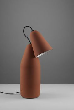 Terracotta Lamp designed by Tomáš Kral