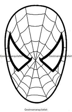 masque de spiderman Plus
