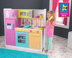 Große KidsKraft Kinderküche in traumhaften Farben