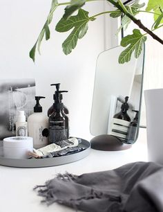 Space-saving bathroom solutions with shelves