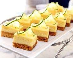 Petits cheesecakes au citron vert Ingrédients