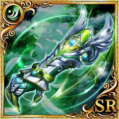 Attribute Wind Armor-Yggdrasil-Senka Knights World Dreva- @ wiki-Gamerch Fantasy Armor, Fantasy Weapons, Gauntlet Weapon, Medieval, Anime Weapons, Angels And Demons, Knight, Character Design, Armi Fantasy