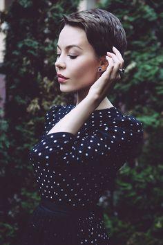 {          I ♥ your look: Ulyana Sergeenko }
